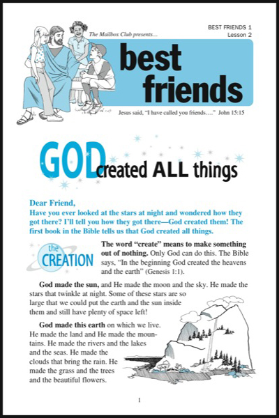 best_friends_1___lesson_2_god_made_all_things
