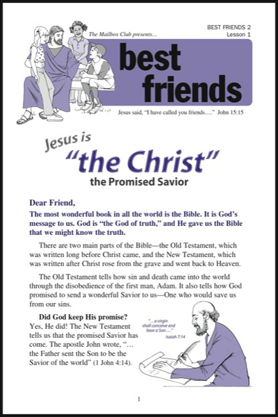 best_friends_2___lesson_1_jesus_is__quot_the_christ_quot__the_promised_savior