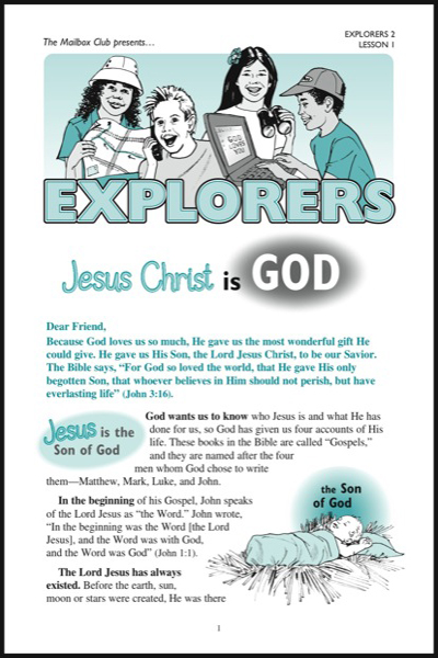 explorers_2___lesson_1_jesus_christ_is_god
