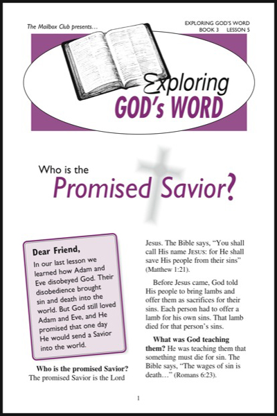 exploring_god__039_s_word___book_3_who_is_the_promised_savior___amp__jesus_is_alive_today_